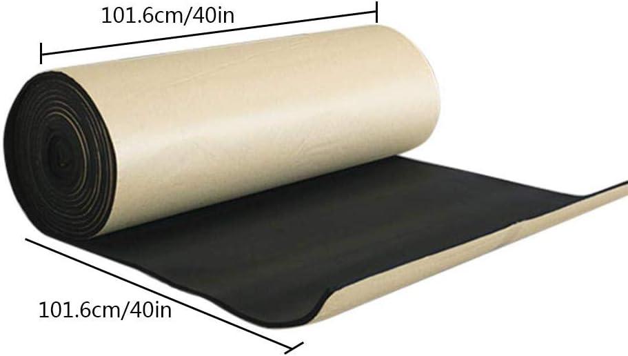 Sound Deadener Mat Sound deadening mat Sound Insulation Car Sound Dampening Material Car Sound deadening Bulk Kit Trunk Hood Door Futureshine Sound Deadening Foam Sound dampener