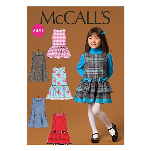 McCall's Patterns M7008 Children's/Girls' Jumpers, CL (6-7-8)