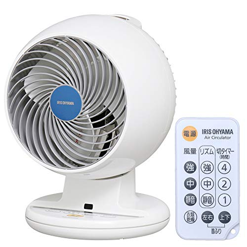 IRIS OHYAMA Circulator PCF-C18T (Up Down Left Right Head Swing Type) (WHITE)【Japan Domestic genuine products】 【Ships from JAPAN】