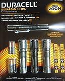 Duracell Durabeam Ultra Mini Zoom LED Flashlight & Penlight Set (4 pack)
