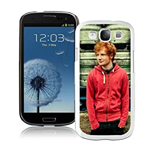 Personalized Ed Sheeran 1 White Customized Samsung Galaxy S3 I9300 Phone Case