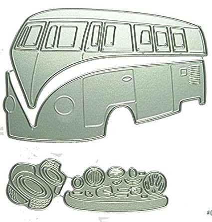 f5c63596cf All Occasion Dies Camper Van - Metal Craft Dies Set  Amazon.co.uk ...