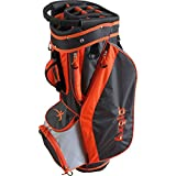 Axglo A182 Econo Golf Cart Bag Orange/Grey