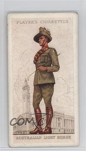 Australian Light Horse COMC REVIEWED Good to VG-EX (Trading Card) 1938 Player's Military Uniforms of the British Empire Overseas - Tobacco [Base] #8