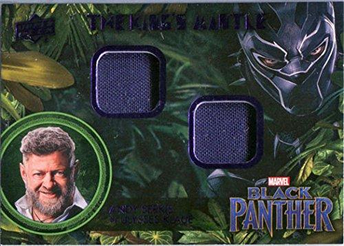Marvel Black Panther Memorabilia Costume Card KM-UK Andy Serkis as U. Klaue -