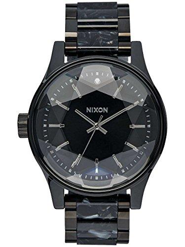 nixon-womens-facet-a3842185-black-stainless-steel-quartz-watch