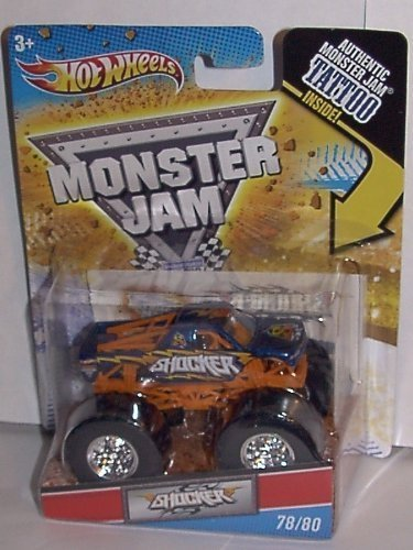 2011 HOT WHEELS 1:64 SCALE SHOCKER TATTOO SERIES MONSTER JAM TRUCK #78/80