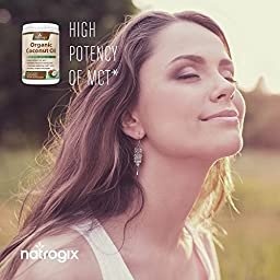 (360 Softgels) 100% Organic Virgin Coconut Oil 4000mg / Serving - Highest Potency – Improves Hair, Skin, Digestive Health, and Immune System. MCT Oil Provides Energy Boost + Healthy Weight Loss.