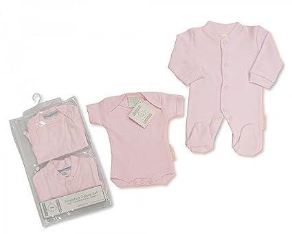 Prematuro diseño de casitas de Wendy con mangas para bebé 2pk (1 Pelele para bebé