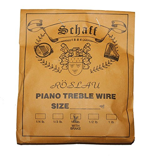 Piano Music Wire  Size 13 - 1/3 Lbs. Coil with Brake Piano