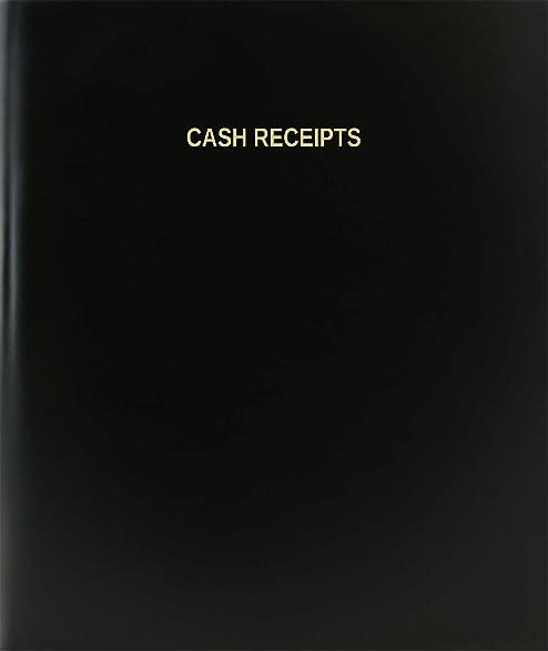 amazon com bookfactory cash receipts log book journal logbook