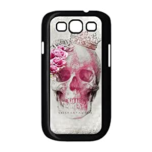Samsung Galaxy S3 I9300 2D DIY Hard Back Durable Phone Case with Skull Image