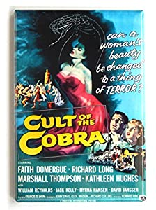 Cult of the Cobra Movie Poster Fridge Magnet (2.5 x 3.5 inches) by Blue Crab Magnets