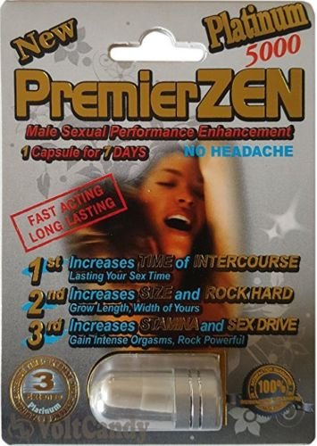 (PremierZen Platinum 5000 Male Enhancement Pills (10))