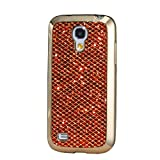 Samsung Samsung Galaxy S7 Case, KSHOP Ultra Thin TPU Silicone Bumper Case Cover with [Electroplating Technology] Bling Glitter Soft Gel Back Case Cover for Samsung Galaxy S7-Orange