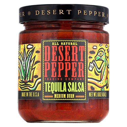Desert Pepper Salsa Tequila, Medium, 16 oz