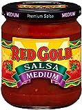 Red Gold Medium Salsa, 15.5oz Jar (Pack of 12)