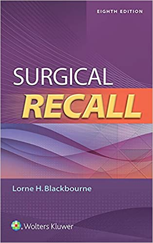 Kết quả hình ảnh cho Surgical Recall – 8th edition amazon