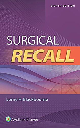 Surgery Recall Pdf