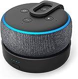 GGMM D3 Battery Base for Dot3 to Make Dot3 Portable, Black ( Not Include The Speaker)