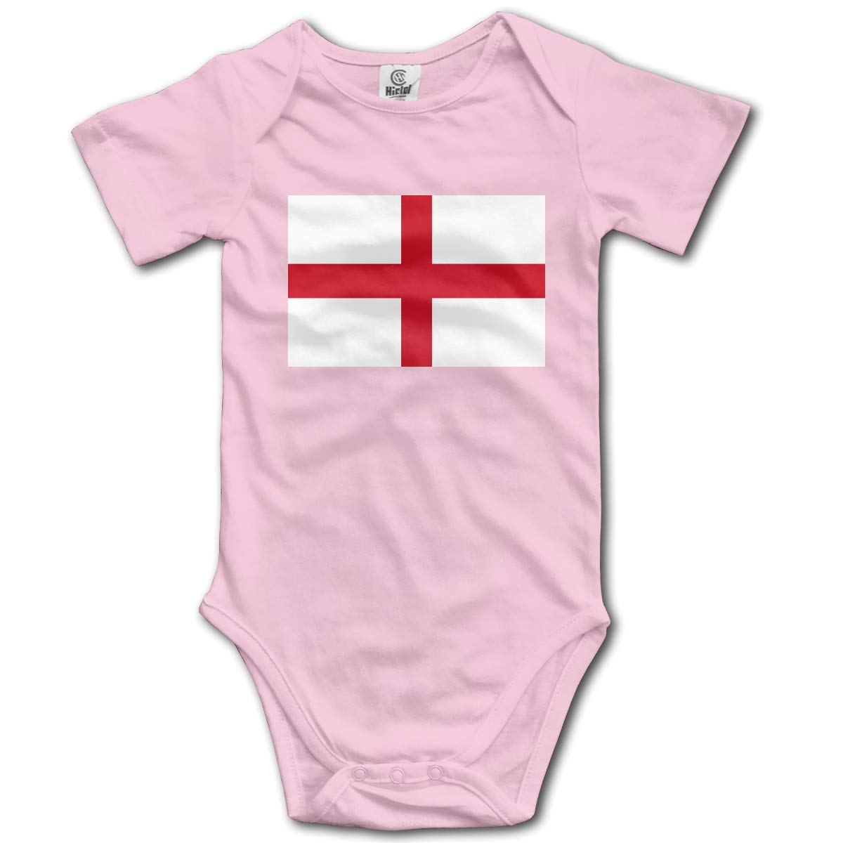 CUTEDWARF Baby Short-Sleeve Onesies Flag of England Bodysuit Baby Outfits