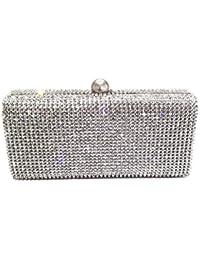 Amazon.com: Silver - Evening Bags / Handbags & Wallets: Clothing ...
