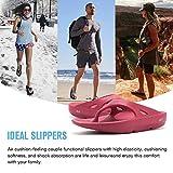 FANTURE Men & Women's Flip Flops Arch Support