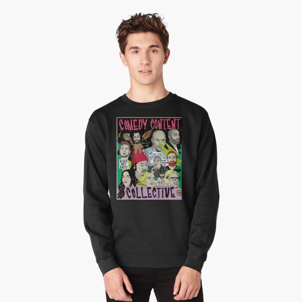 Long Sleeve. Comedy Content Collective comedian standup podcast your moms house Sweatshirt T-shirt Zip Hoodie Crewneck