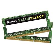 Corsair 8GB (2x4GB) 1600MHz PC3-12800 204-Pin DDR3 SODIMM Laptop Memory (CMSO8GX3M2C1600C11)