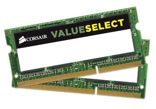 - Corsair 2GB (2x1GB) DDR2 667 MHz (PC2 5300) Laptop Memory (VS2GSDSKIT667D2)