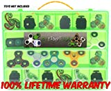Fidget Carrying Case - Stores Dozens Of Spinners, Cubes,...