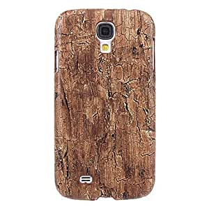 get Old Bark Stripe Pattern Plastic Protective Back Case Cover for Samsung Galaxy S4 I9500 , Brown