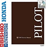 bishko automotive literature 2005 Honda Pilot Shop Service Repair Manual CD Engine Drivetrain Wiring OEM