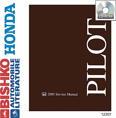 Honda Wiring Diagrams - bishko automotive literature 2005 Honda Pilot Shop Service Repair Manual CD Engine Drivetrain Wiring OEM