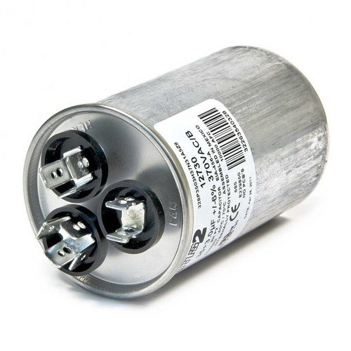 Protech 43-101665-59 70/5/440 Dual Round Capacitor