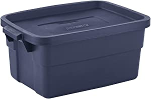 Rubbermaid Roughneck️ Totes 3 Gal Pack of 6 Rugged, Reusable, Set of Storage Containers