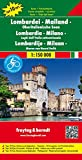 Lombardy - Milan : Lakes in Northern Italy : Road and Leisure Map (English, Spanish, French, Italian and German Edition)