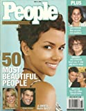 * 50 MOST BEAUTIFUL PEOPLE * Halle Berry, George Clooney, Britney Spears - May 12, 2003 People Magazine