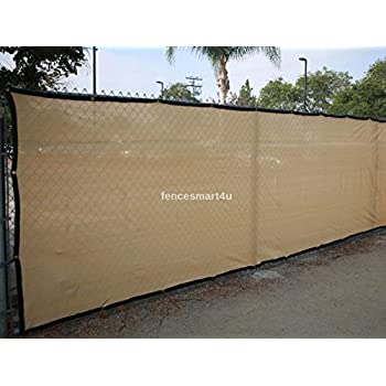 Privacy screen windscreen fence w brass for Cloth privacy screen