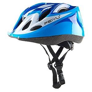 Joyutoy Bike Helmet Kid's Cycling Bike Helmet Road Mountain Racing Rollerblading Skate Inline Skating Helmets for Children (Blue)