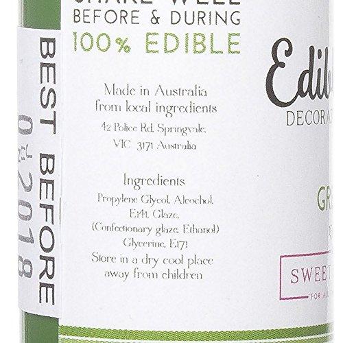 Edible Art Decorative Paint Green 15ml by Sweet Sticks (Image #2)
