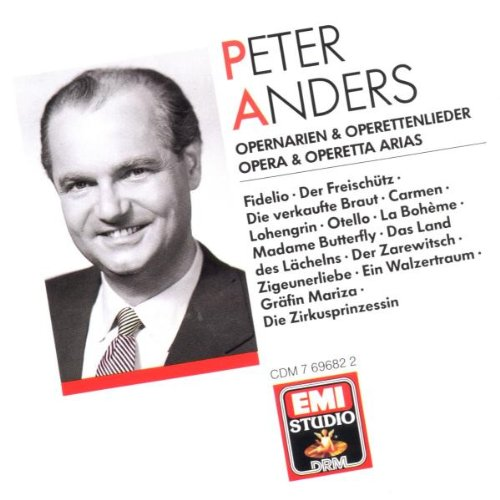 Opera and Operetta Arias / Peter Anders (EMI) by EMI Studio DRM