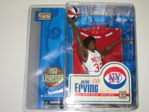 McFarlane Toys NBA Sports Picks Legends Series 1 Action Figure Julius Erving (1 Mcfarlane Sports Picks Toys)