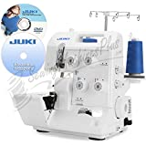 Juki Pearl Line MO-654DE 2/3/4 Thread Overlock Serger with BONUS Items Includes: Juki Electronic Workbook CD and Juki Instructional DVD Video