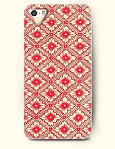 SevenArc Phone Cover Apple iPhone case for iPhone 4 4s -- Red Royal Floral Pattern