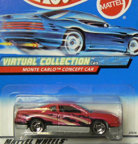 Monte Carlo Concept Car - #2000-109 Monte Carlo Concept Car Gold Stripe Collectible Collector Car Mattel Hot Wheels 1:64 Scale