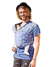 HOPPEDIZ Elastische draagdoek voor vroege en pasgeborenen, incl. draaghandleiding