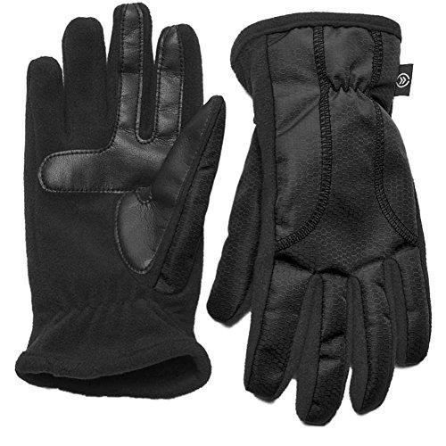Isotoner Smart Touch Women Black Matrix Tech Glove Smartouch Thermaflex XS/S