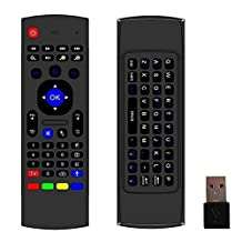 Susay(TM) MX3 Multifunction 2.4ghz Mini Wireless Keyboard Infrared Remote Control for Android TV Box