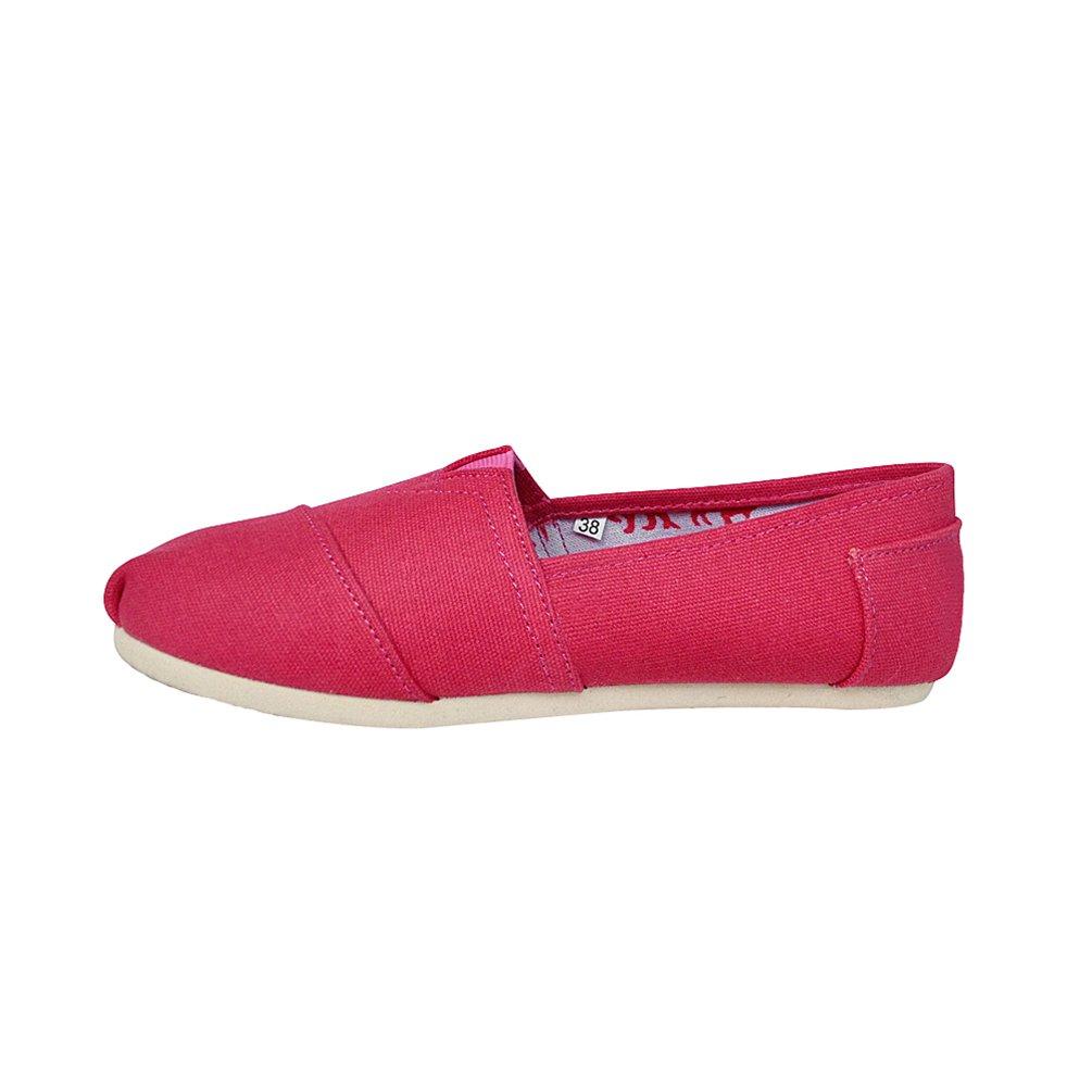 Dooxi Couleur Hommes Confort Femmes Décontractée Chaussures Plat Loafers Chaussures Mode Confort Couleur Unie Espadrilles Comme Image 7a6740a - shopssong.space
